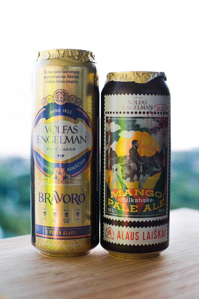 Пиво Volfas Engelman