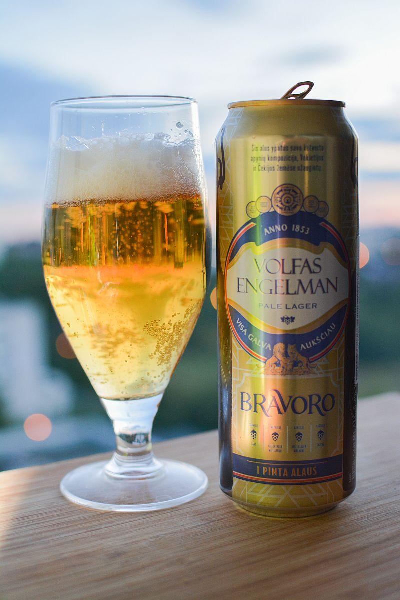 Пиво Volfas Engelman Bravoro