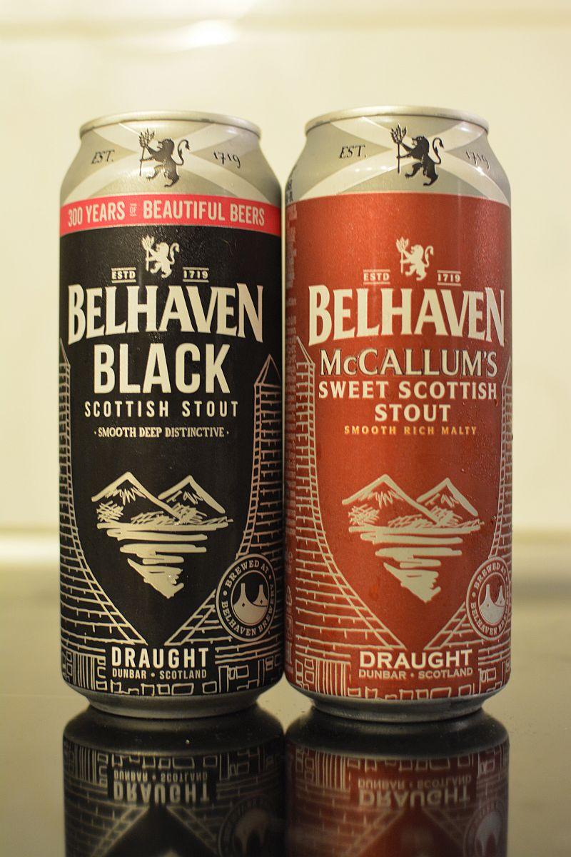 Пиво Пиво Belhaven McCallum's и Black