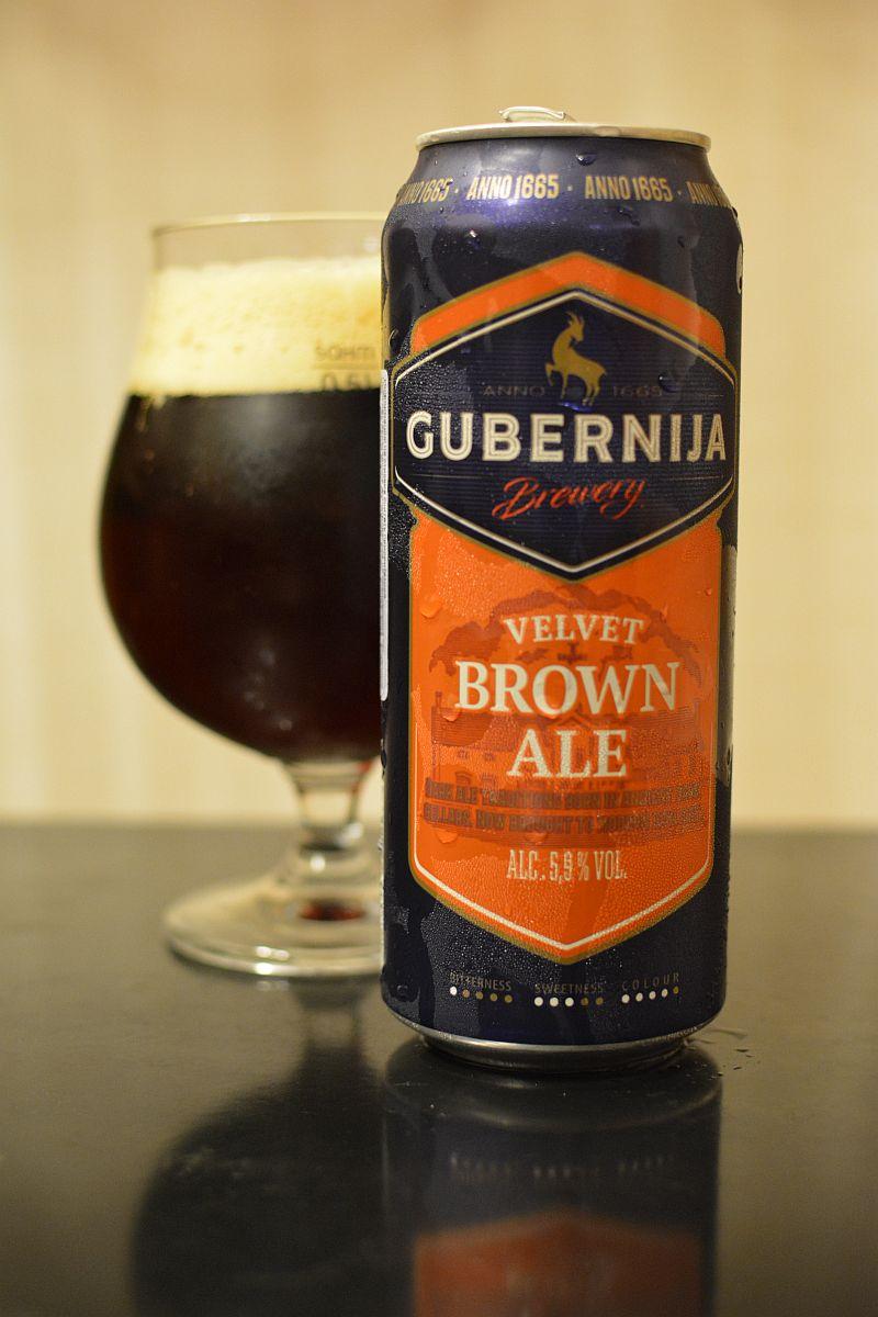 Пиво Gubernija Velvet Brown Ale