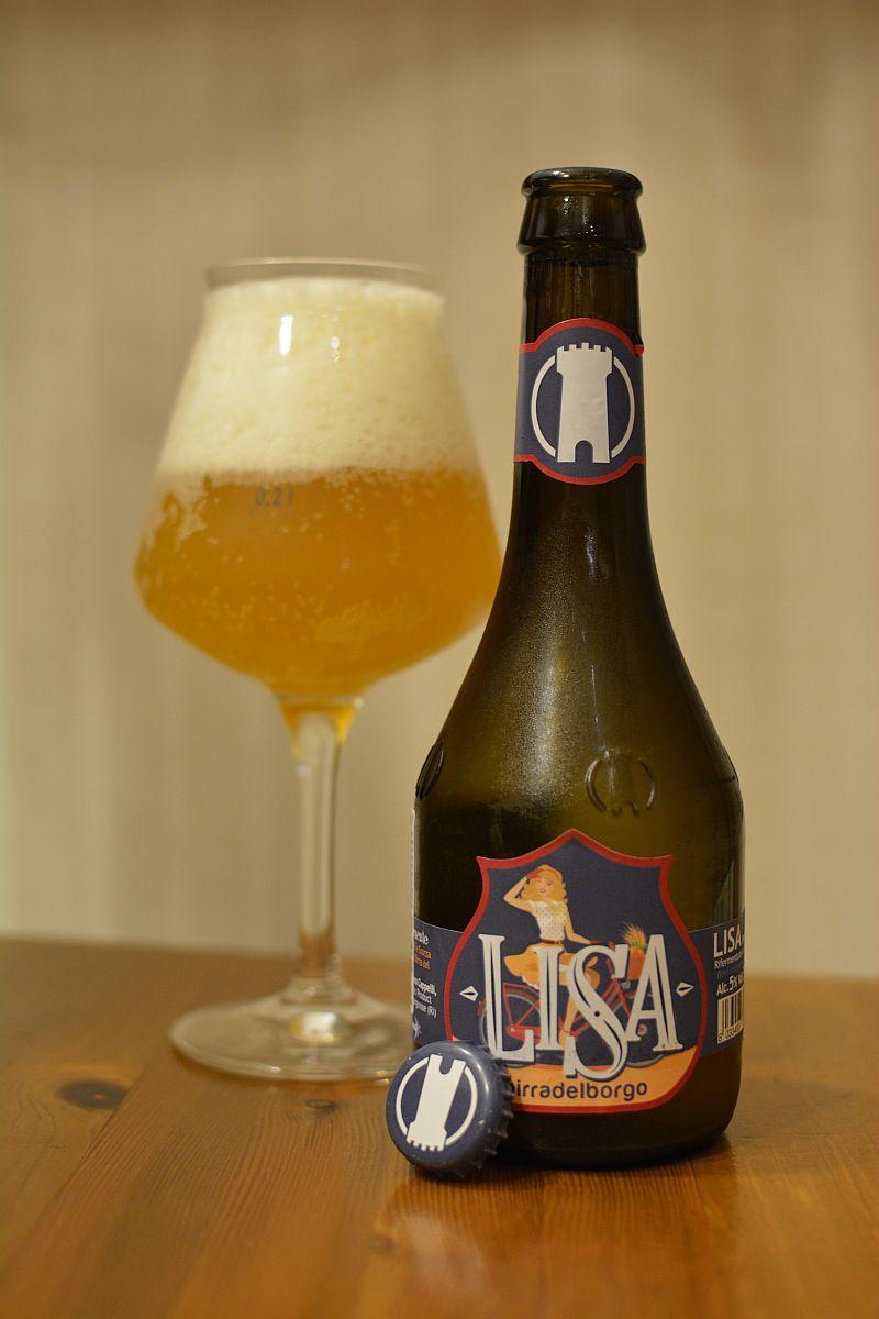 Пиво LISA Birra Del Borgo