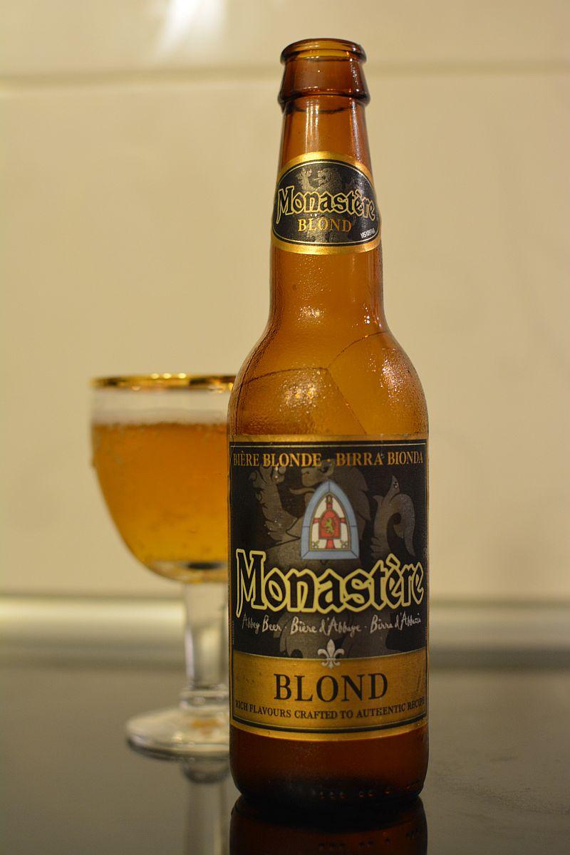 Пиво Monastère Bière Blonde