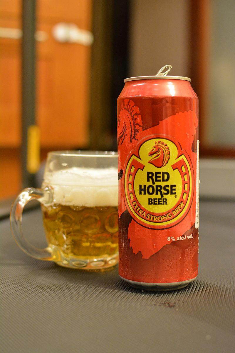 Пиво Red Horse