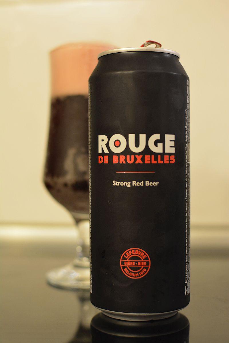 Пиво Rouge de Bruxelles