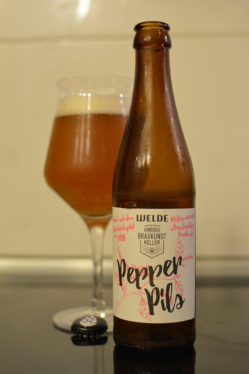 Пиво Welde Pepper Pils