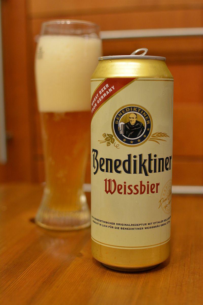 Пиво Benediktiner Weissbier