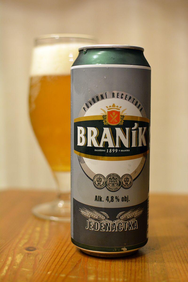 Пиво Branik Jedenactka