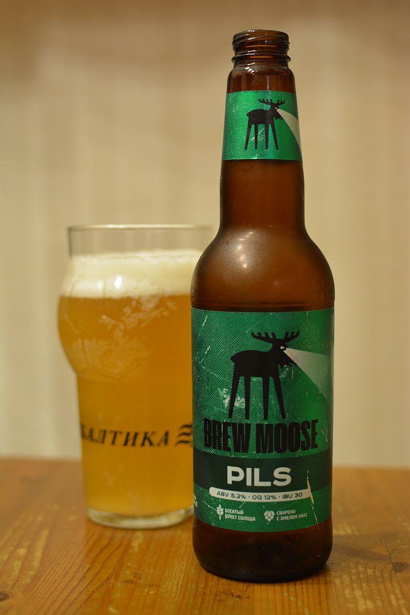Пиво Brew Moose Pils
