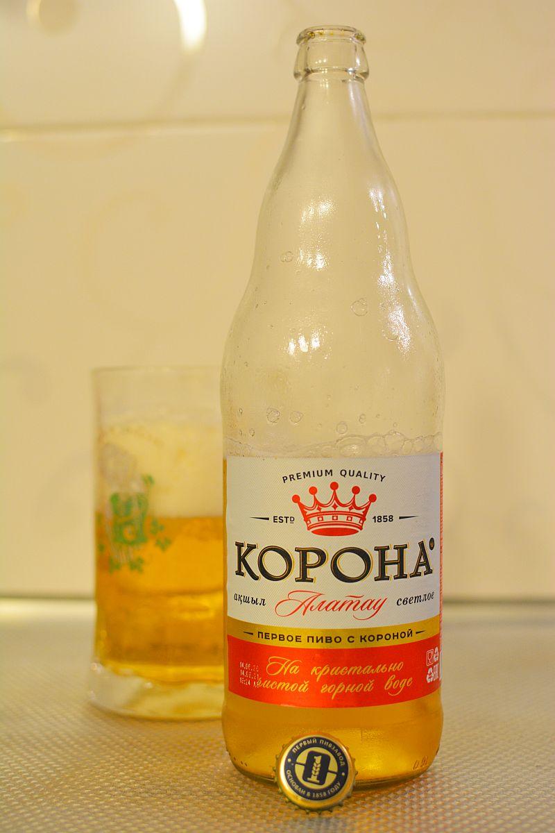 Пиво Корона Алатау