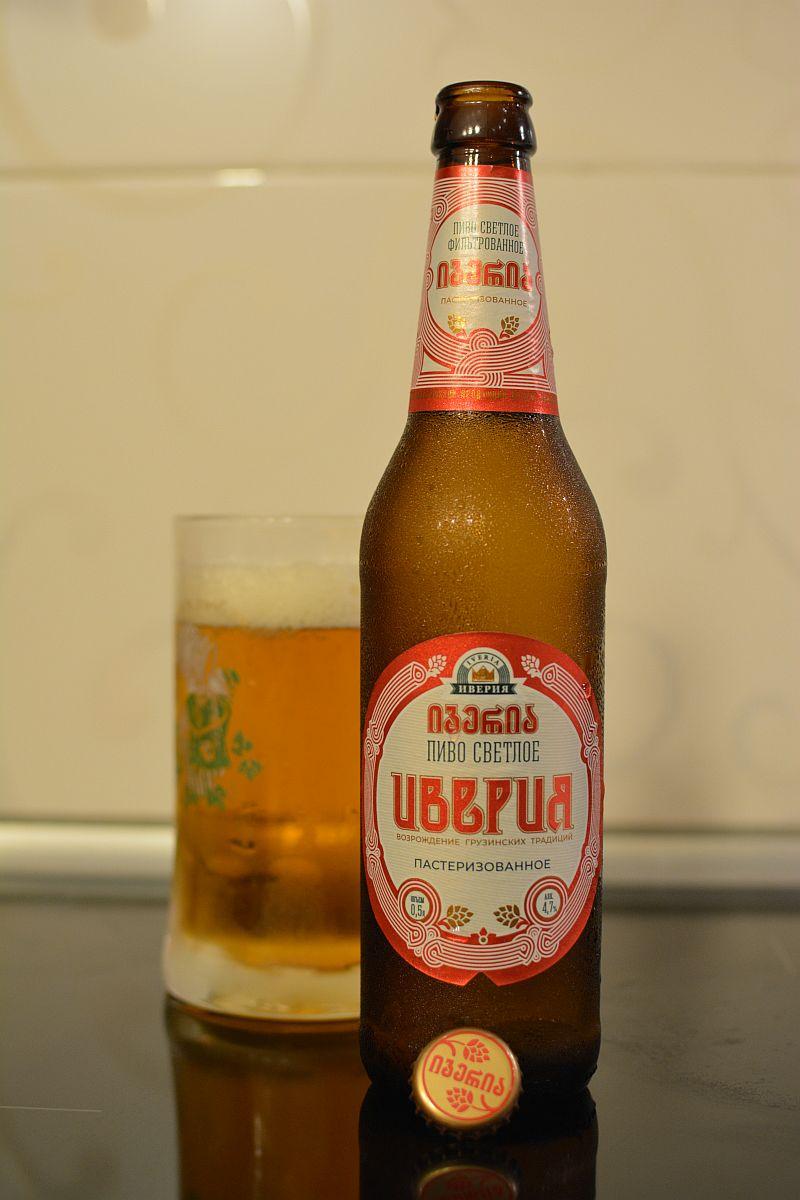 Пиво Иверия светлое