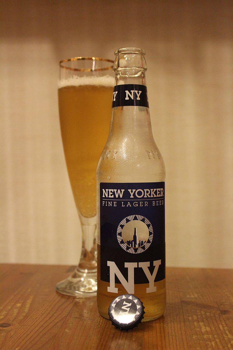 Пиво New Yorker Fine Lager