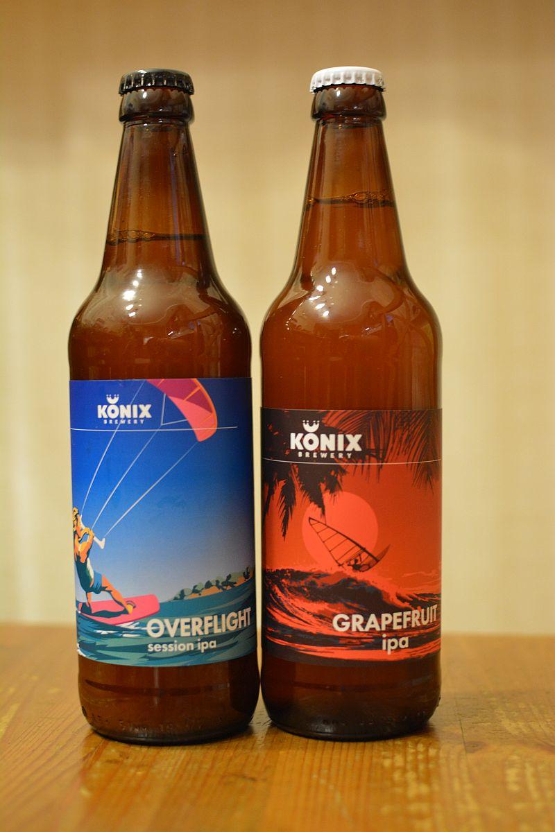 Пиво Overflight и Grapefruit IPA