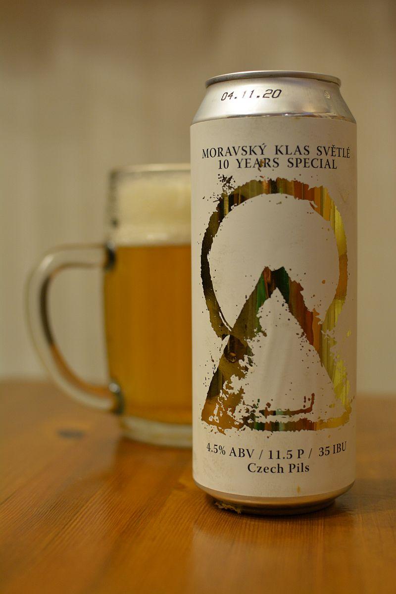 Пиво Moravský Klas Světlé 10 Years Special