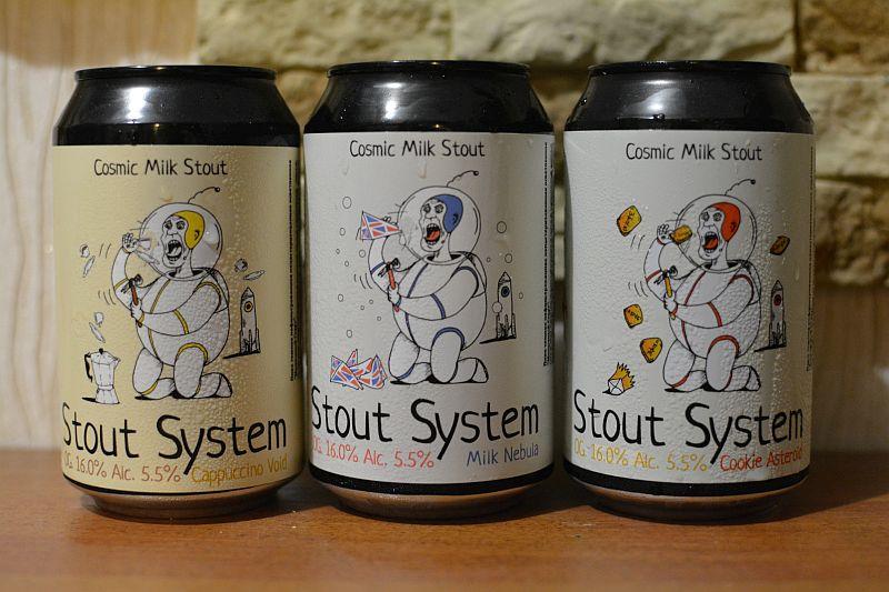Молочные стауты Stout System от 1 Тонна