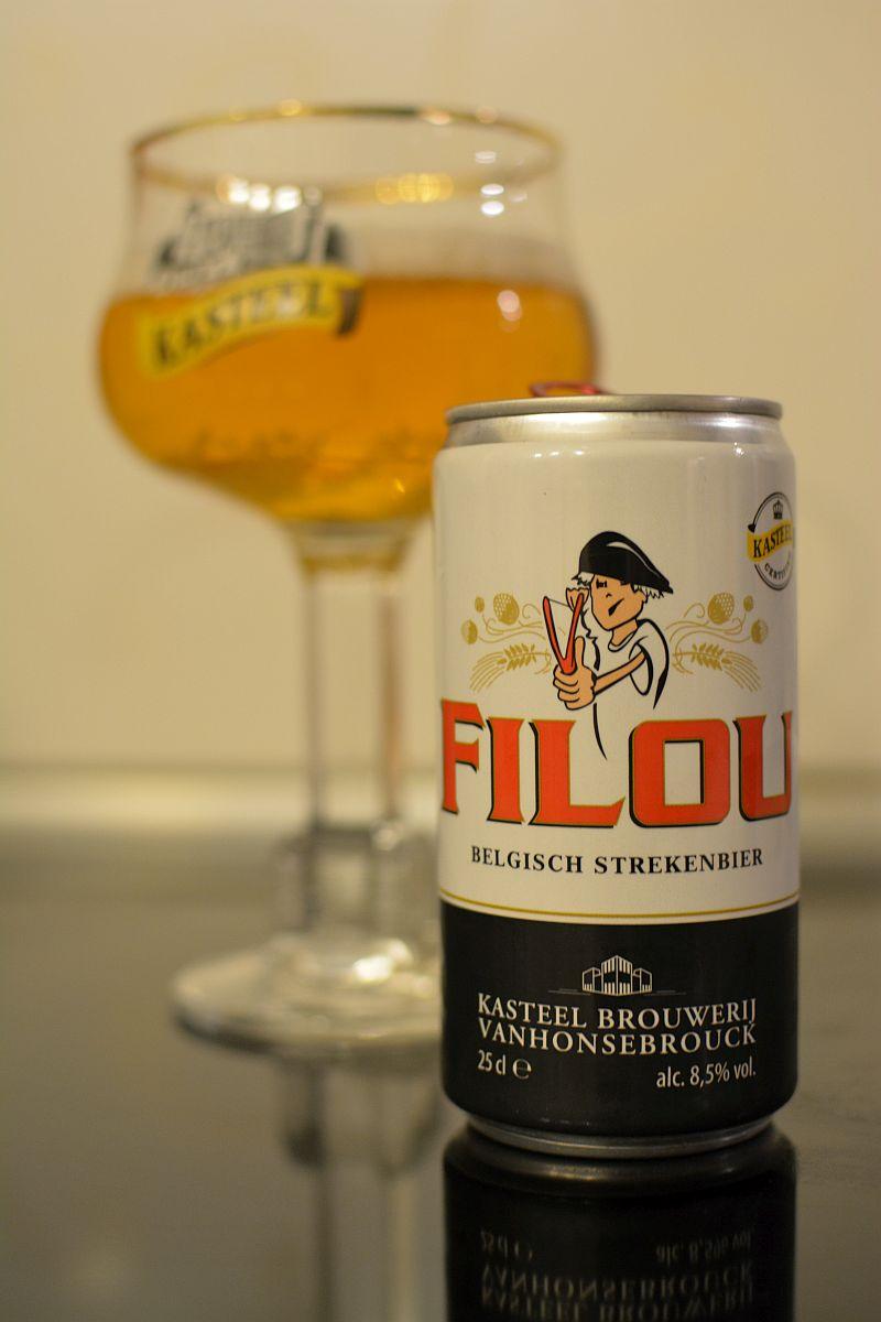 Бельгийское пиво Filou от Kasteel