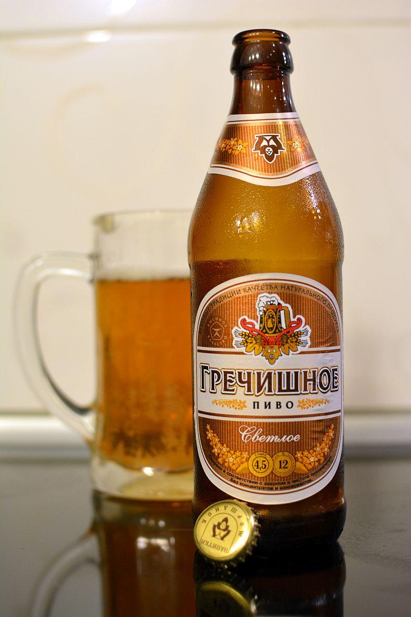Пиво Гречишное из Моршанска