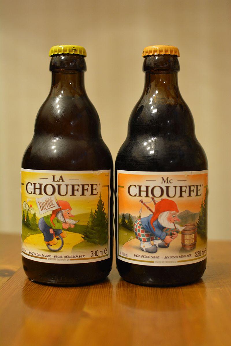 Пиво La Chouffe и Mc Chouffe