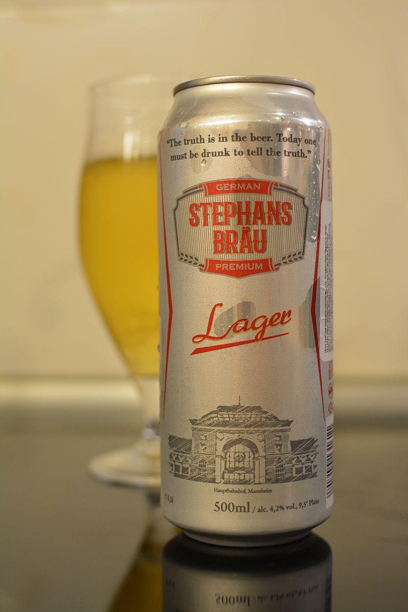 Пиво Stephans Brau Lager