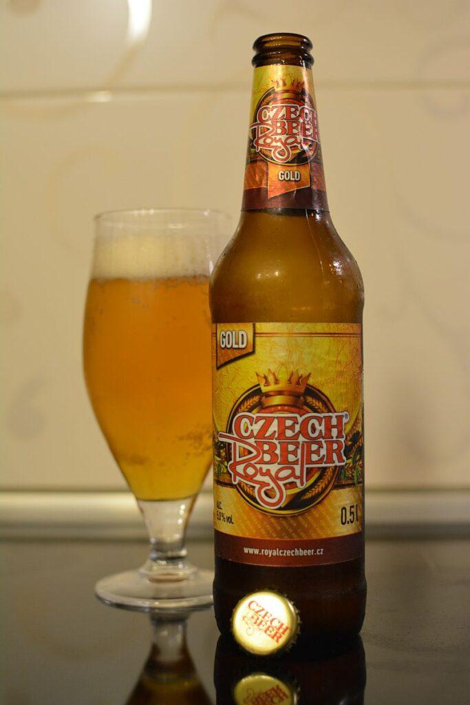 Пиво Czech Royal Beer Gold