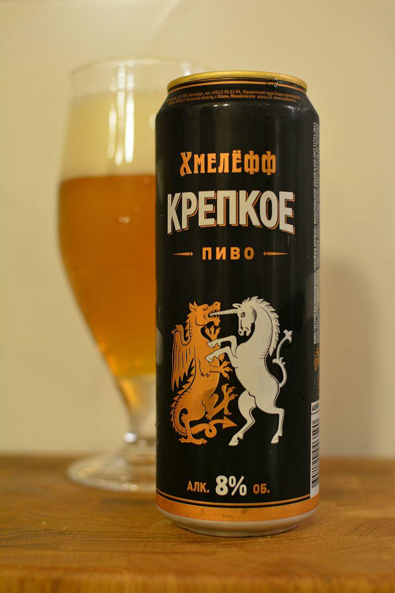 Пиво Хмелёфф Крепкое