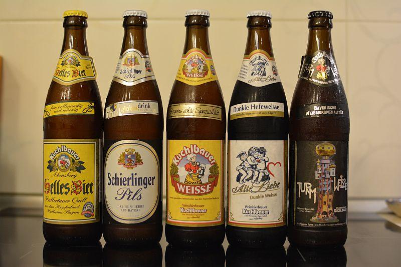 Пиво от немецкой пивоварни Kuchlbauer