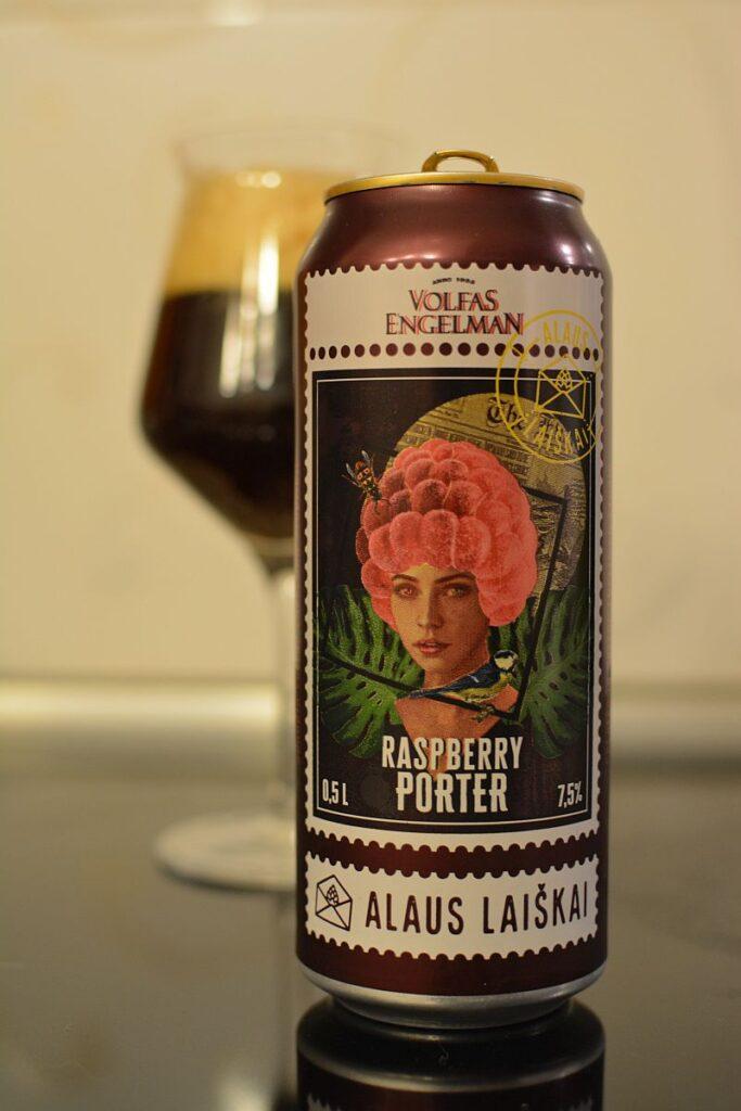 Пиво Volfas Engelman Raspberry Porter
