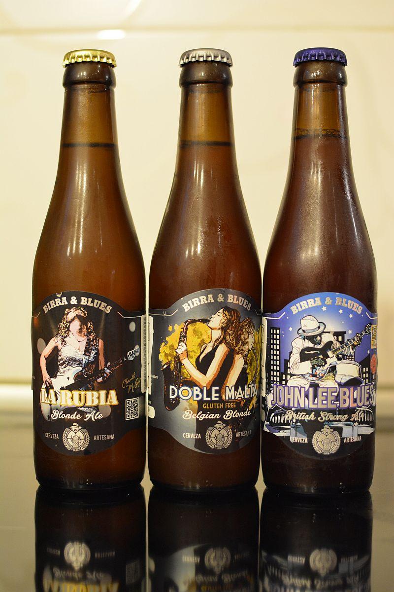 Пиво от испанской пивоварни Birra & Blues