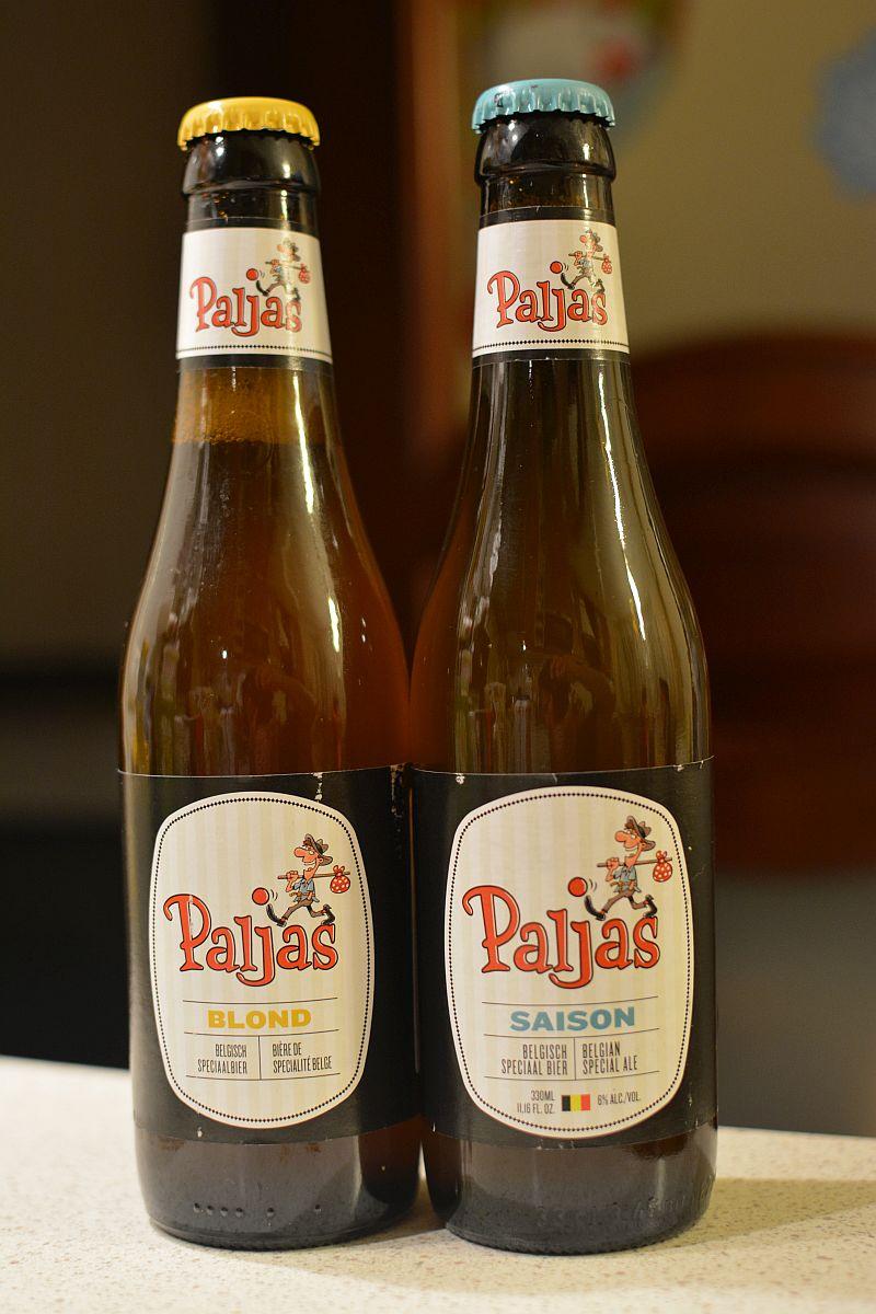 Пиво Paljas Blond и Saison от Brouwerij Henricus