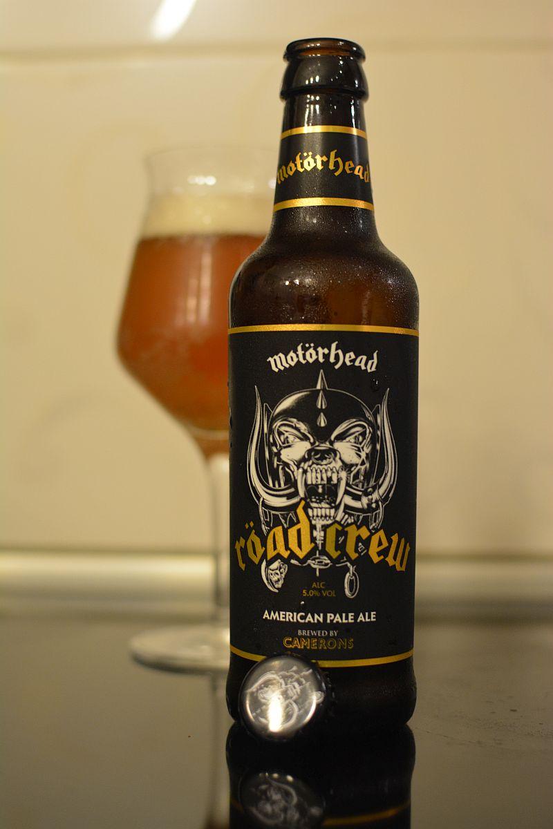 Пиво Motörhead Röad Crew