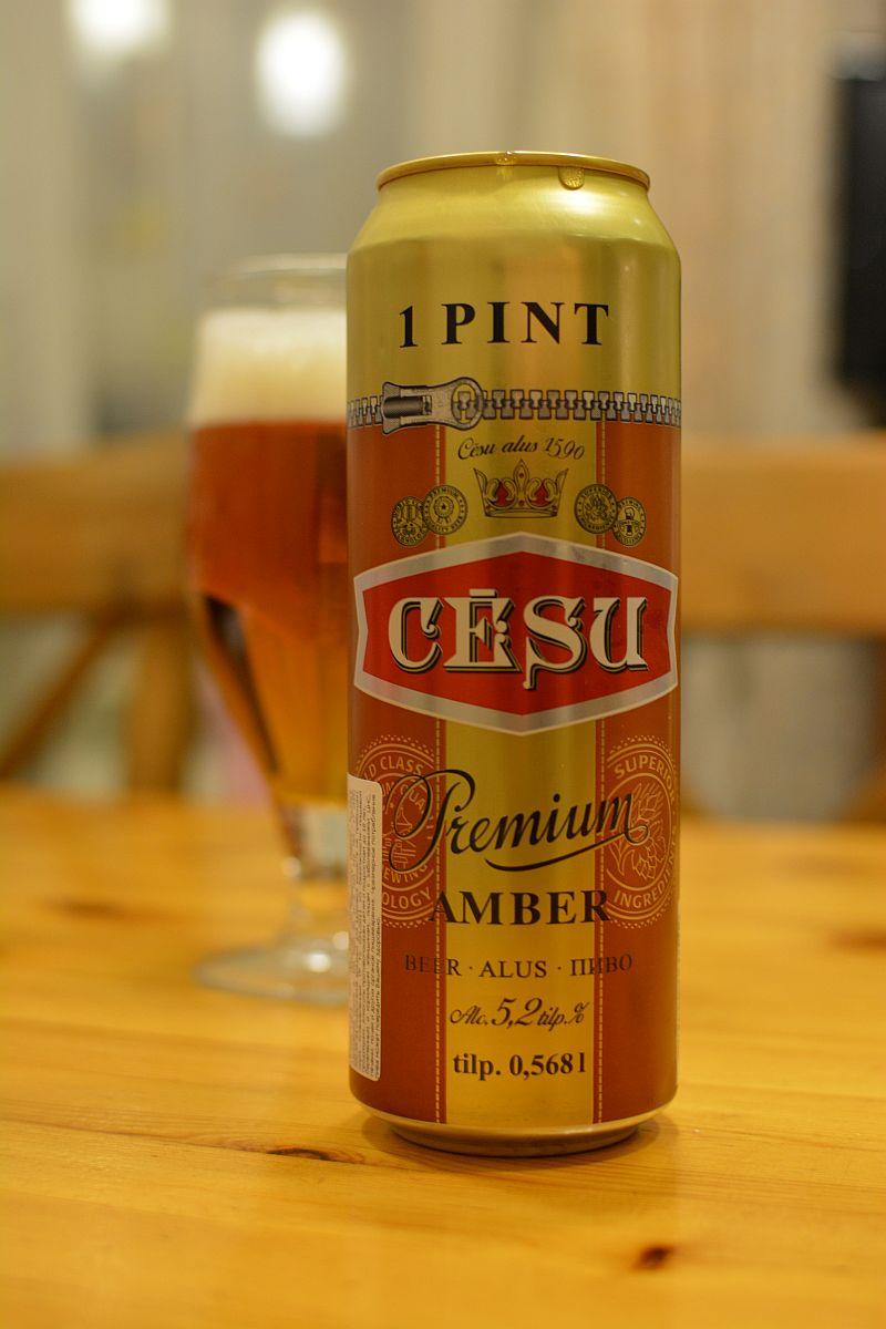 Пиво Cēsu Premium Amber
