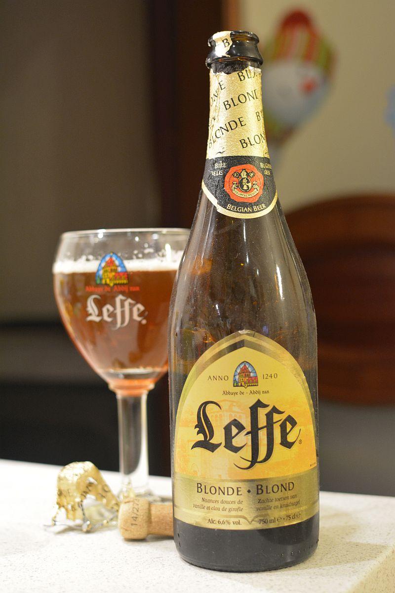 Пиво Leffe выдержанное 6 лет