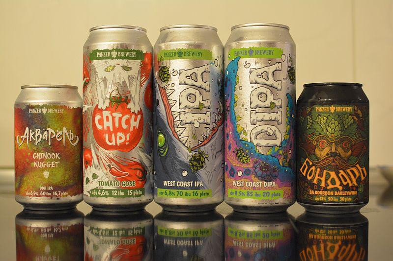 Томатное пиво Catch Up! и другие новинки от Panzer