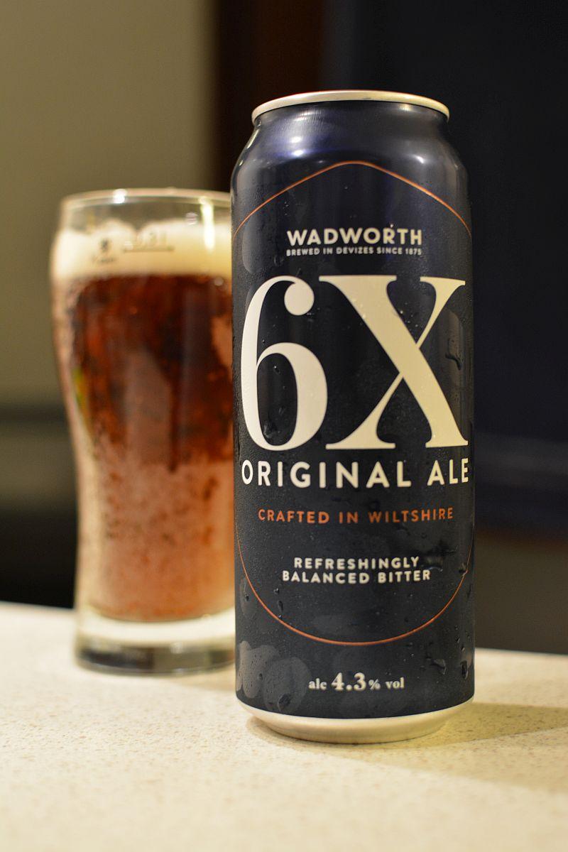 Пиво Wadworth 6X