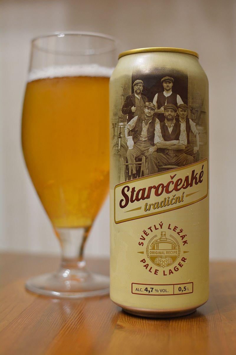 Пиво Staroceske Tradicni