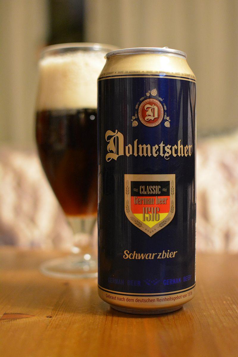 Пиво Dolmetscher Schwarzbier