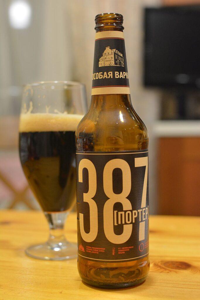 Пиво 387 Портер