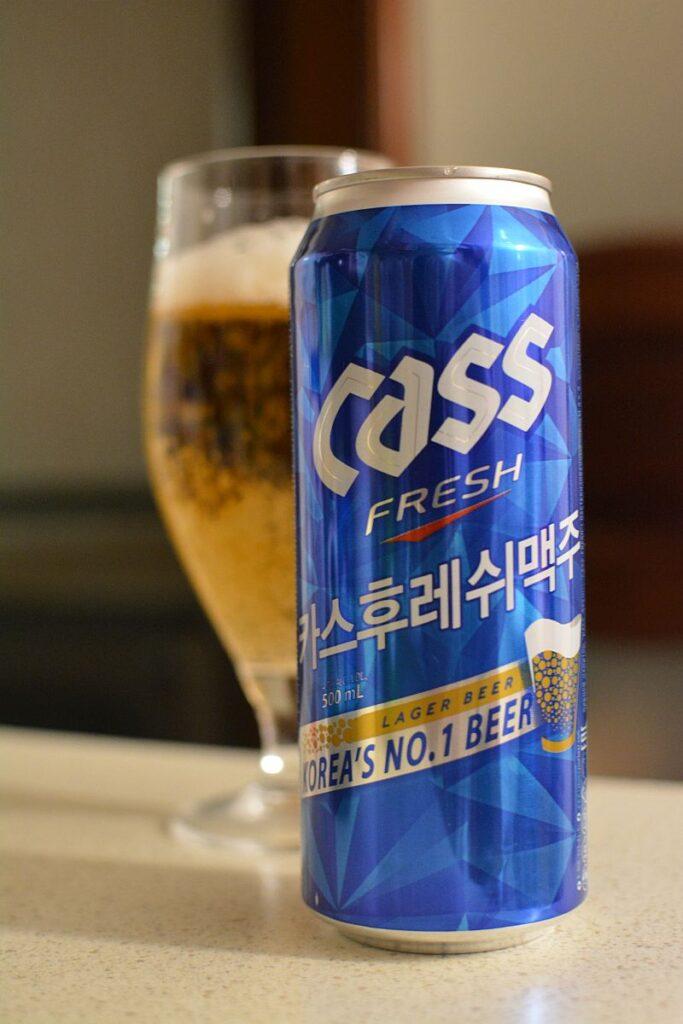 Пиво Cass Fresh