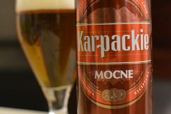 Пиво Karpackie Mocne
