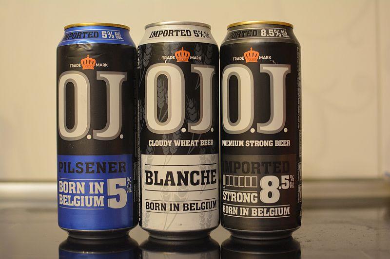 Пиво O.J. Pilsener, Blanche и Strong