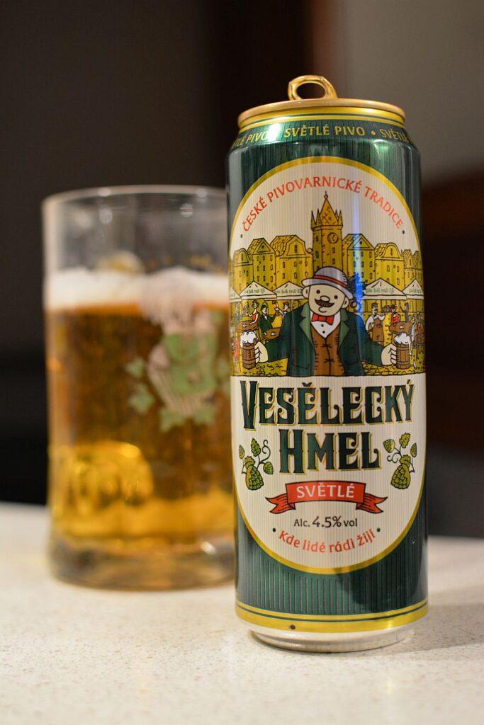 Пиво Vesĕlecký Hmel