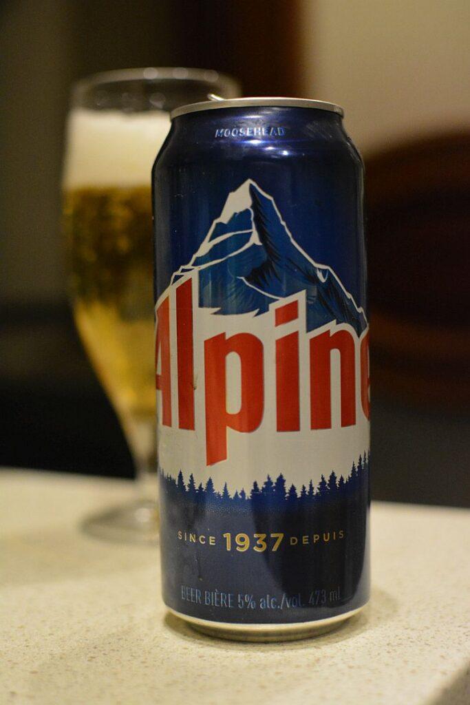 Пиво Alpine Lager