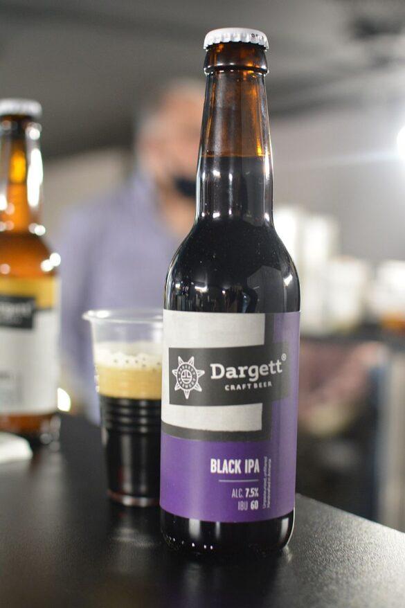 Пиво Dargett Black IPA