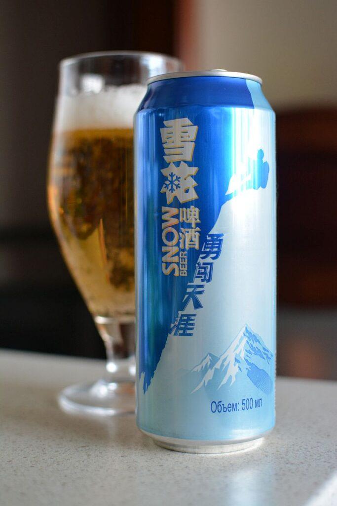 Пиво Snow - самое продаваемое пиво в мире