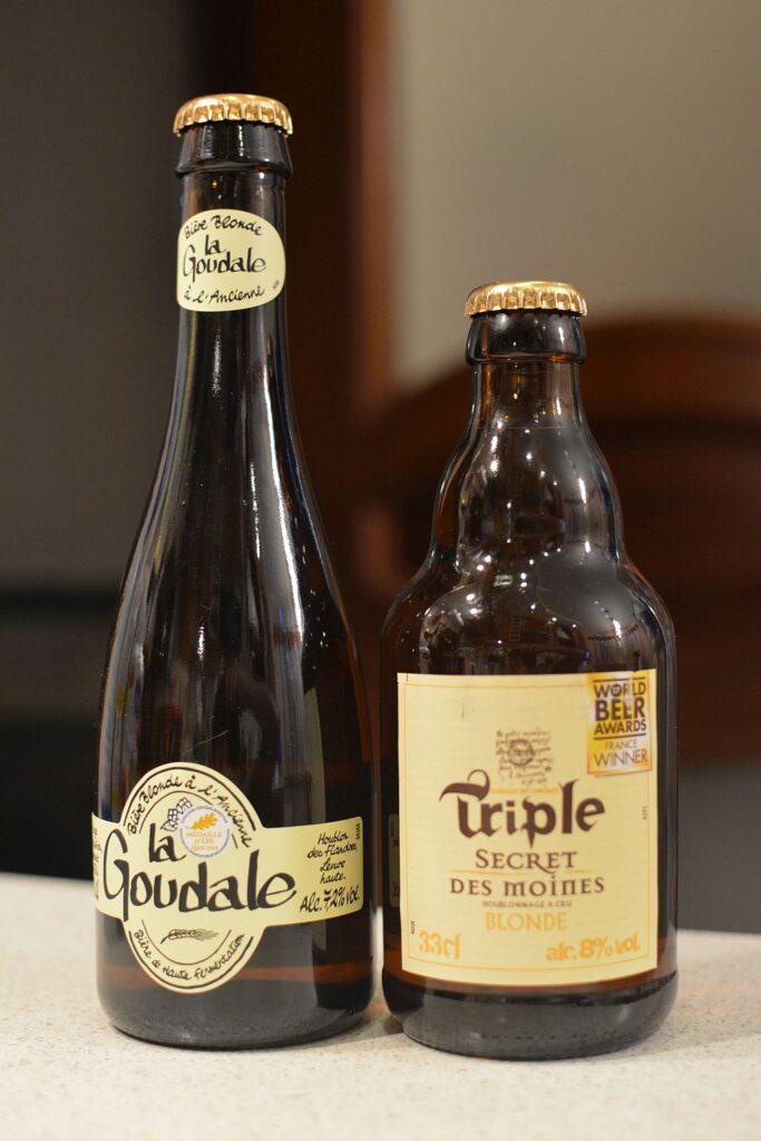 Пиво от французской Brasserie Goudale
