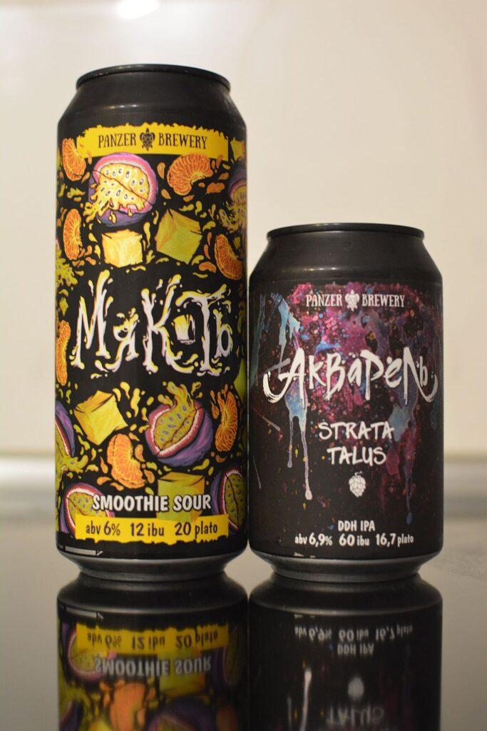 Пиво Мякоть и Акварель Strata & Talus от Panzer