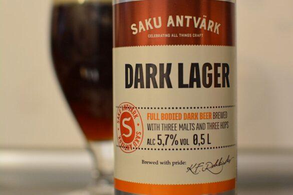 Пиво Saku Antvärk Dark Lager