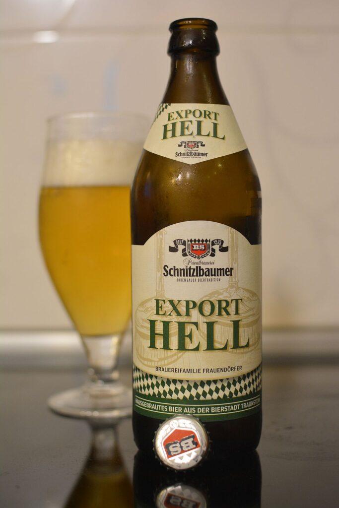 Пиво Schnitzlbaumer Export Hell