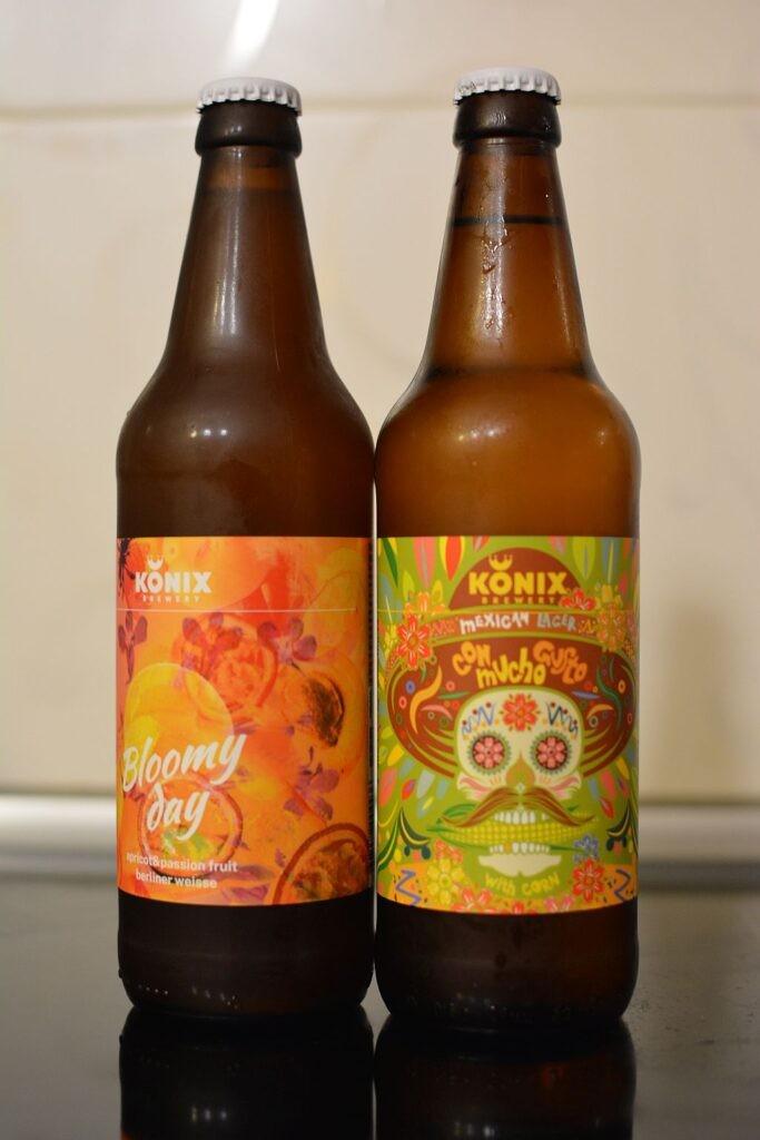 Пиво Con Mucho Gusto и Bloomy Day от Konix