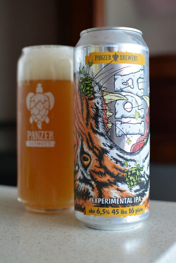 Пиво Panzer Experimental IPA
