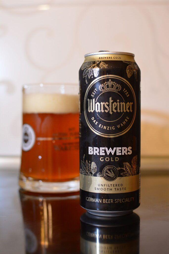 Пиво Warsteiner Brewers Gold